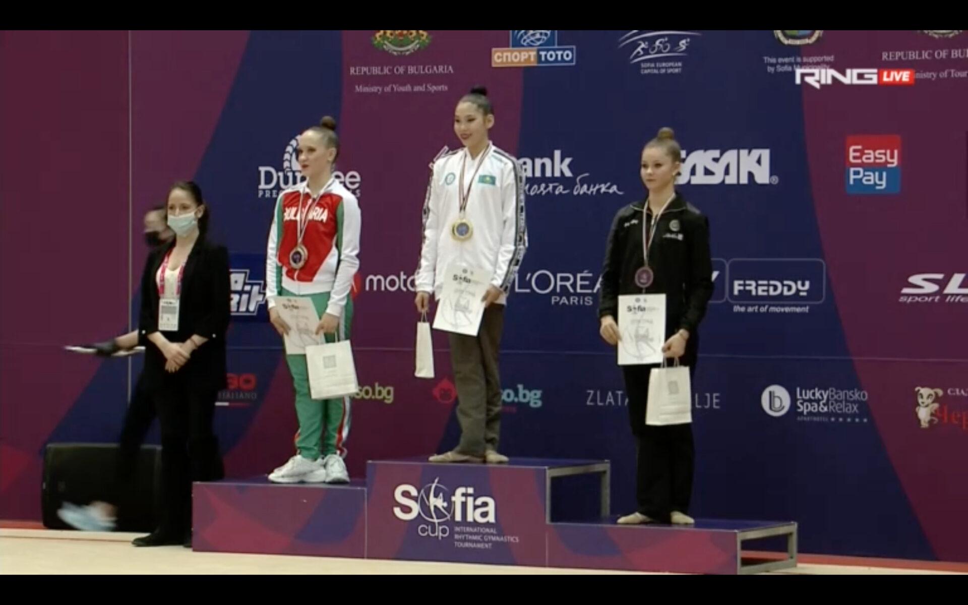 3° posto per Sofia